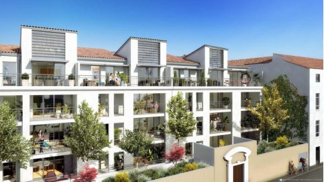 Appartements et maisons neuves Ecrin des Arts éco-habitat à Nîmes