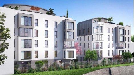 Appartement neuf Nouvel Angle investissement loi Pinel à Caluire-et-Cuire