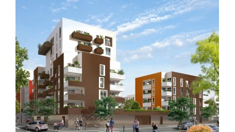 Appartement neuf Inspir' éco-habitat à Evry