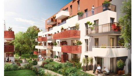 Appartement neuf Bukolia investissement loi Pinel à Nantes