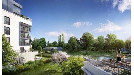 Appartement neuf Domaine Richelieu éco-habitat à Rueil-Malmaison