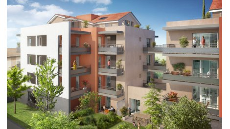 Appartement neuf M8 investissement loi Pinel à Craponne