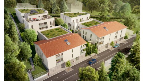 Appartement neuf Vert Fontaines éco-habitat à Fontaines-Saint-Martin