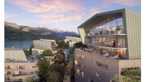 Appartement neuf L'Avant-Scene investissement loi Pinel à Annecy