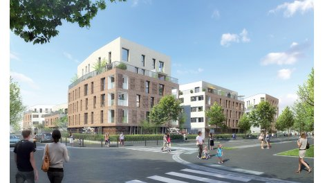 Appartement neuf Jardin Nacelia investissement loi Pinel à Trappes