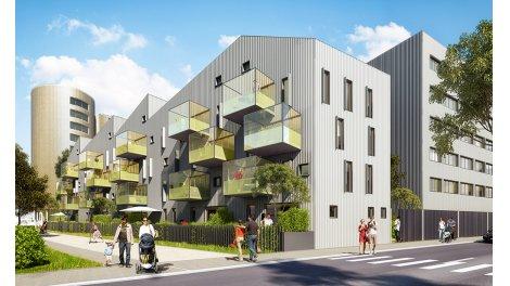 Appartement neuf Alcyons éco-habitat à Bordeaux