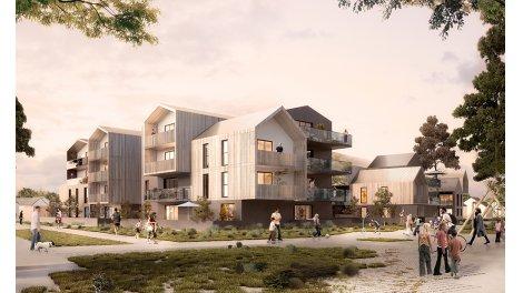 Appartement neuf Safran investissement loi Pinel à Séné