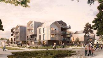 Appartements neufs Safran éco-habitat à Séné