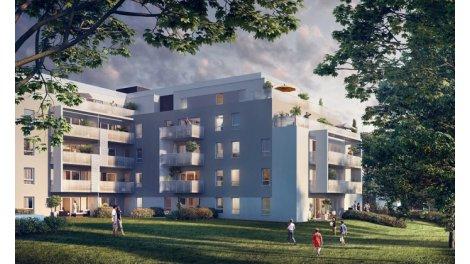 Appartement neuf Urban Parc investissement loi Pinel à Vannes