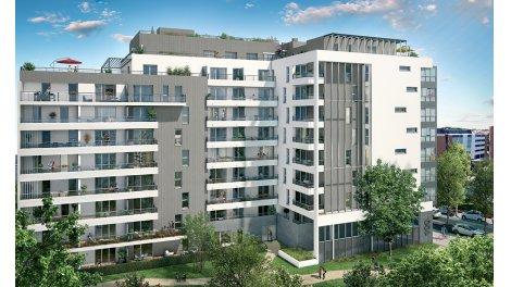 Appartement neuf Envue éco-habitat à Toulouse