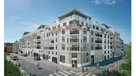 Appartement neuf Carre Balzac investissement loi Pinel à Lagny-sur-Marne