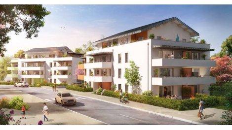 Appartement neuf Instant Leman investissement loi Pinel à Evian-les-Bains
