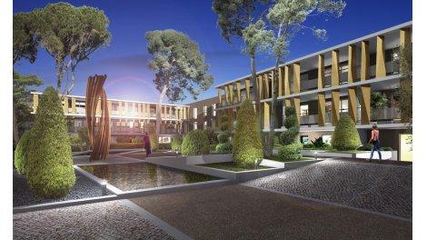Appartement neuf Epure éco-habitat à Saint-Jean-de-Vedas