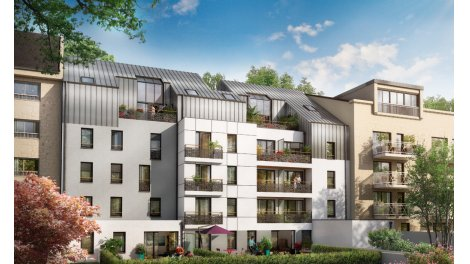 Appartement neuf Luminence investissement loi Pinel à Nantes