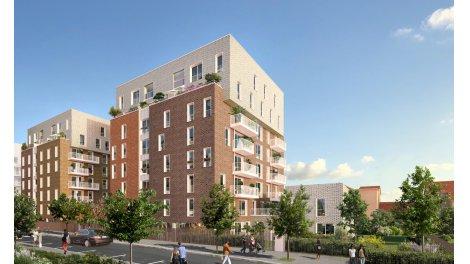Appartement neuf Open investissement loi Pinel à Gentilly