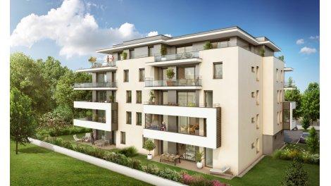 Appartement neuf L'Angelus investissement loi Pinel à Annecy-le-Vieux