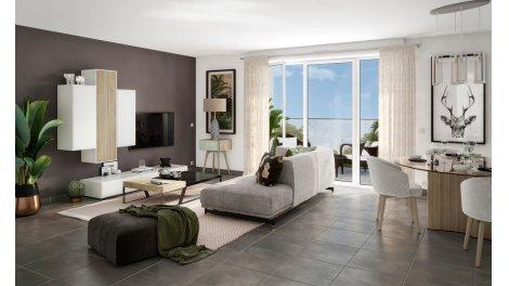 Appartement neuf Harmonia Verde éco-habitat à Montpellier
