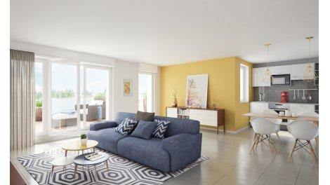 Appartement neuf Villa Emma investissement loi Pinel à Montpellier
