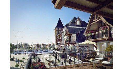 Appartements et maisons neuves Presqu'Ile - les Residences de la Presqu'Ile investissement loi Pinel à Deauville