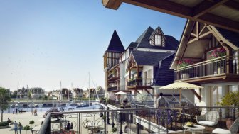 """Programme immobilier du mois """"Presqu'Ile - les Residences de la Presqu'Ile"""" - Deauville"""