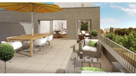Appartement neuf Artésium - Rennes Sud-Ouest investissement loi Pinel à Rennes