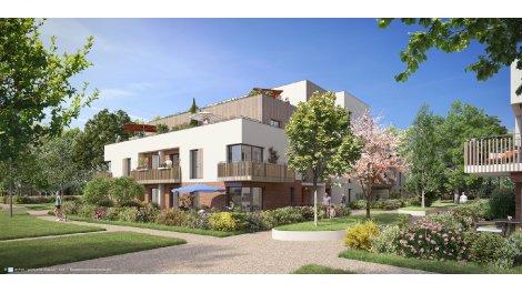 Appartement neuf Le Domaine de Sully éco-habitat à Le Mesnil-Saint-Denis