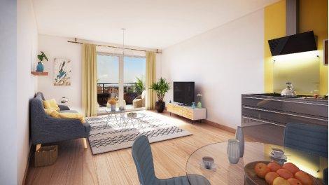Appartement neuf Nantes-Quartier Saint-Jacques investissement loi Pinel à Nantes