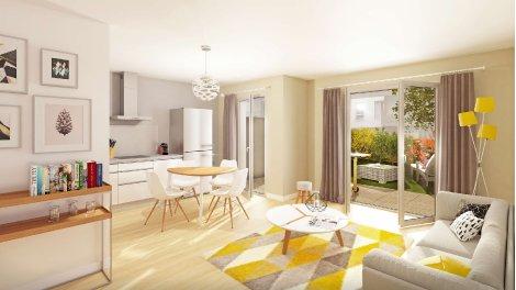 Appartement neuf Villas en Scène - Acte 1 - Forum Méliès éco-habitat à Tours