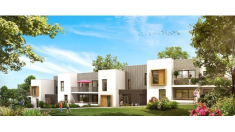 Appartement neuf Les Terrasses Botaniques investissement loi Pinel à Nantes