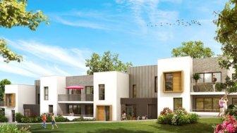 Appartements neufs Les Terrasses Botaniques éco-habitat à Nantes