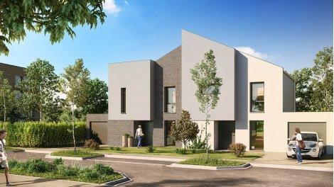 Appartements et maisons neuves Les Allées de la Cense à Baisieux