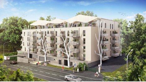 Appartement neuf Grandmont Park investissement loi Pinel à Tours