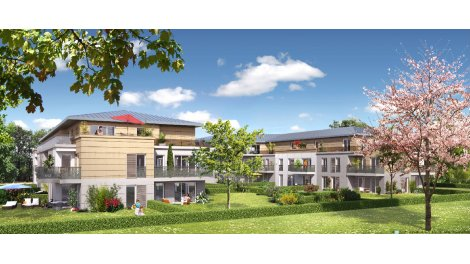 Appartement neuf Le Domaine des Acanthes éco-habitat à Villennes-sur-Seine