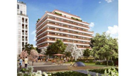 Appartement neuf Natural Square éco-habitat à Lyon 7ème