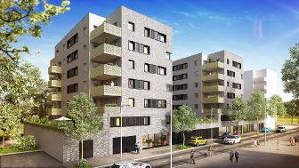 Appartements neufs Les Jardins de Stella investissement loi Pinel à Lingolsheim