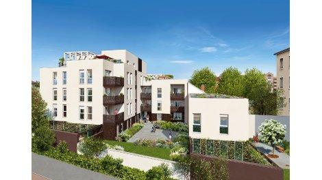 Appartement neuf Serena investissement loi Pinel à Lyon 8ème