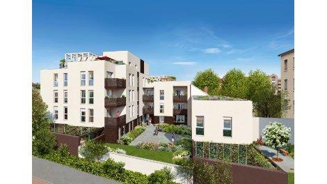 Maisons neuves Serena à Lyon 8ème