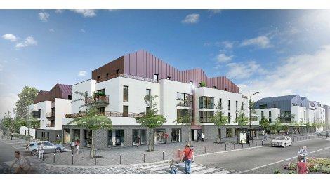 Appartement neuf Mondévilla éco-habitat à Mondeville
