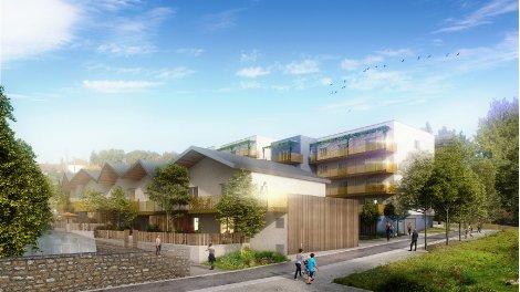 Appartement neuf Terre des Vaites éco-habitat à Besançon