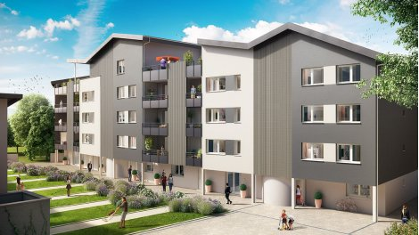 Appartement neuf Via Julia investissement loi Pinel à Dijon