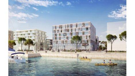Appartement neuf Résidence Quai Péristyle éco-habitat à Lorient