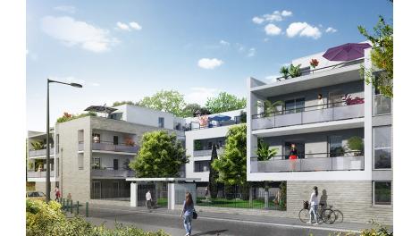 Appartement neuf Le Clos d'Ambroise éco-habitat à Toulouse