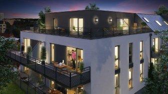 Appartements neufs Le Confidentiel éco-habitat à Strasbourg