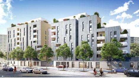 Appartement neuf Cosmopolitain éco-habitat à Villeurbanne