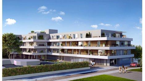 Appartement neuf Iconium éco-habitat à Nîmes