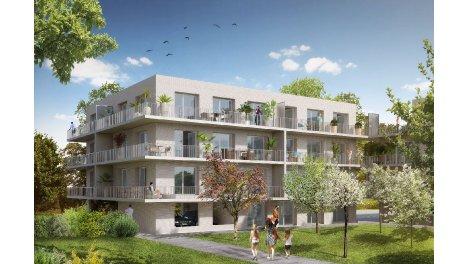 Appartement neuf Les Terrasses de l'Esplanade éco-habitat à Amiens