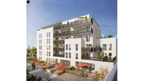 Appartement neuf Le Midori investissement loi Pinel à Villeurbanne