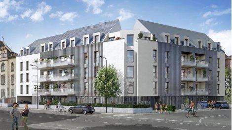 Appartement neuf L'Alchimie investissement loi Pinel à Colmar
