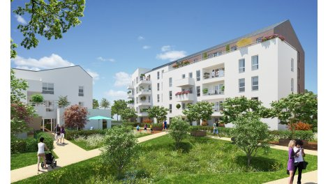 Appartement neuf Le Quatuor investissement loi Pinel à Melun