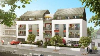 Appartements neufs L'Atelier des Lettres éco-habitat à Nantes